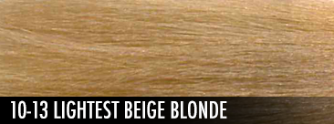 10-13 lightest beige blonde