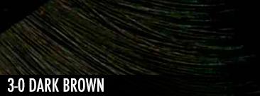 3-0 dark brown