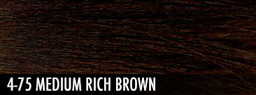 4-75 medium rich brown