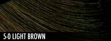 5-0 light brown