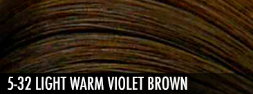 5-32 light warm violet brown