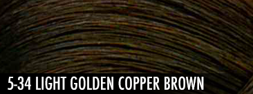 5-34 light golden copper brown
