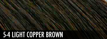 5-4 light copper brown
