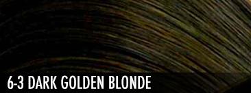 6-3 dark golden blonde
