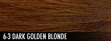 6-3 dark golden blonde
