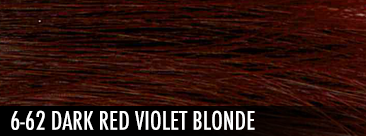 6-62 dark red violet blonde