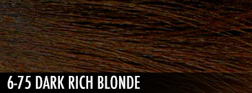 6-75 DARK rich BLONDE