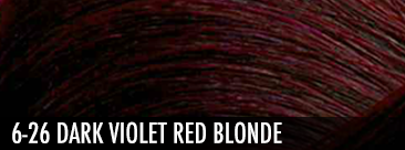 6.26 dark violet red blonde