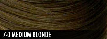 7-0 medium blonde