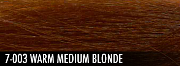 7-003 warm medium blonde
