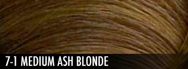 7-1 medium ash blonde