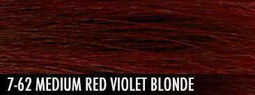 7-62 medium red violet blonde