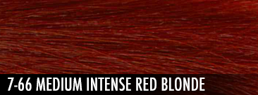 7-66 medium intense red blonde