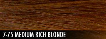 7-75 medium rich blonde