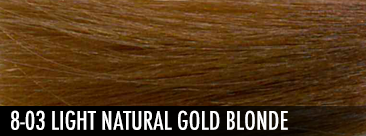 8-03 light natural gold blonde