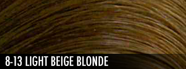8-13 light beige blonde