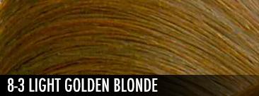 8-3 light golden blonde