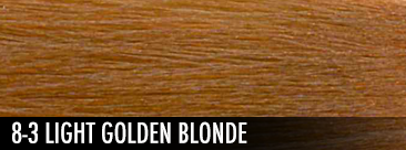8-3 light golden blonde