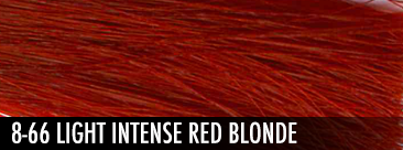 8-66 light intense red blonde