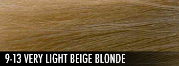 9-13 very light beige blonde