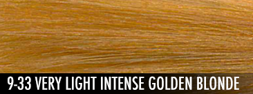 9-33 very light intense golden blonde