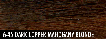 dark copper mahogany blonde