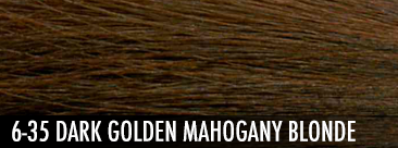 dark golden mahogany blonde
