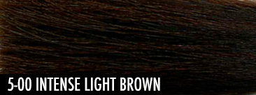 intense light brown