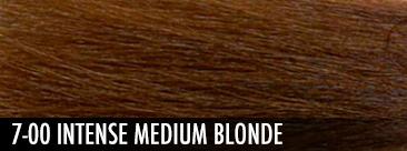 intense medium blonde