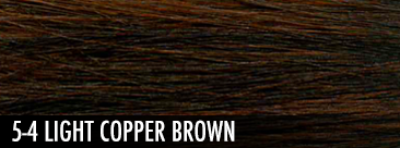 light copper brown
