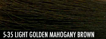 light golden mahogany brown