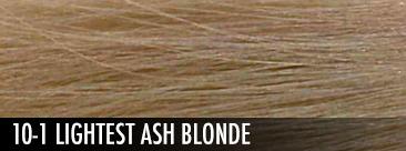 lightest ash blonde