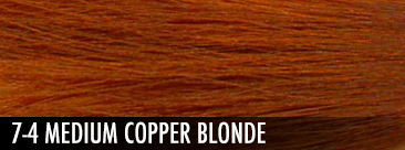 medium copper blonde