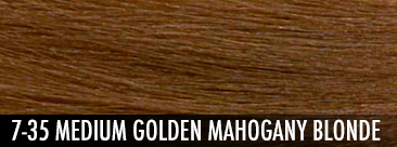 medium golden mahogany blonde