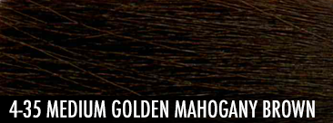 medium golden mahogany brown