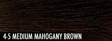 medium mahogany brown