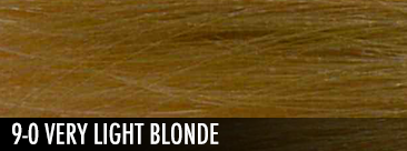 very light blonde
