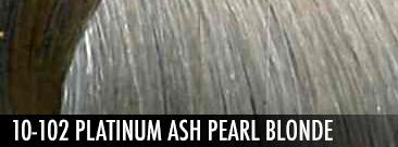 10-102 Platinum Ash Pearl Blonde