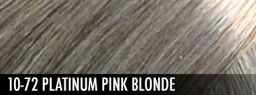 10-72 Platinum Pink Blonde