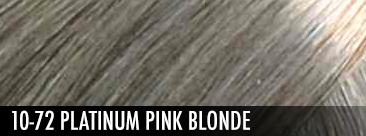 10-72 Platinum Pink Blonde