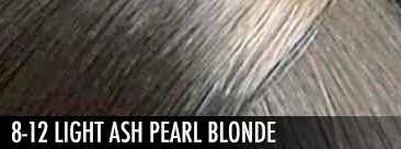 8-12 Light Ash Pearl Blonde