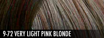 9-72 Very Light Pink Blonde